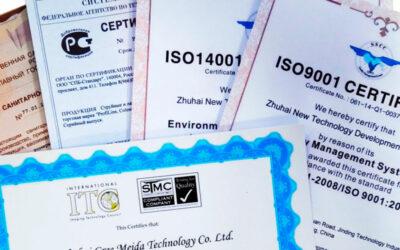 Получить сертификат соответствия на продукцию цена